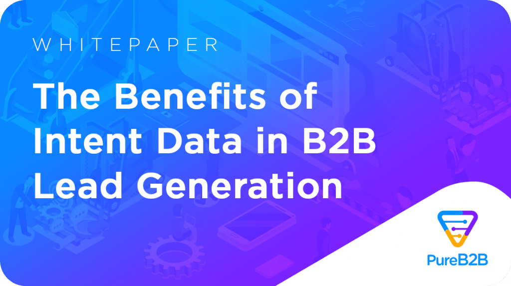 The Wealth Behind B2B Intent Data