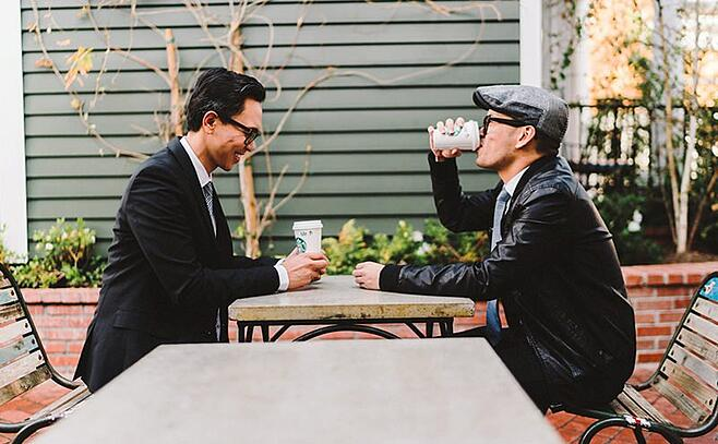 Why you need to step away from the keyboard & meet people for coffee